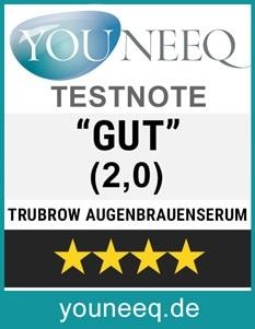 Trubrow Augenbrauenserum Test