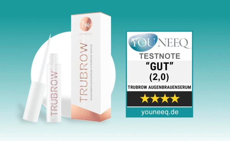 Trubrow Augenbrauenserum im Test, Testergebnis GUT