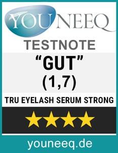 Trucosmetics Eyelash Serum Strong Test