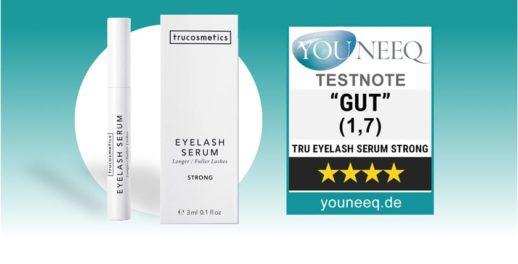 Trucosmetics Eyelash Serum Test