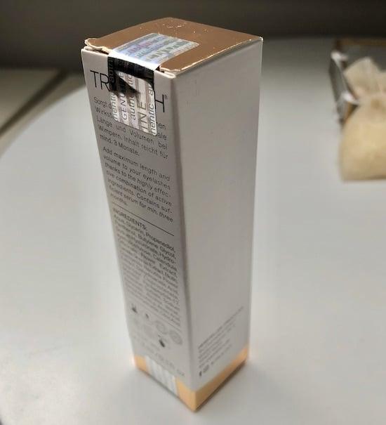 Trulash Wimpernserum Verpackung