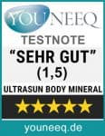 Ultrasun Body Mineral Test