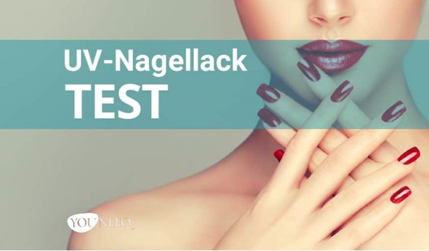 UV Nagellack Test