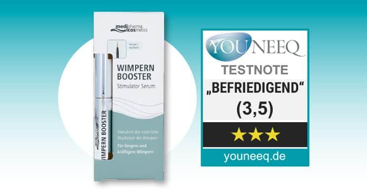 Wimpern Booster Medipharma Test