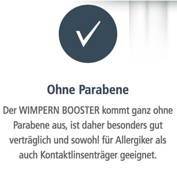 Wimpern Booster Parabene