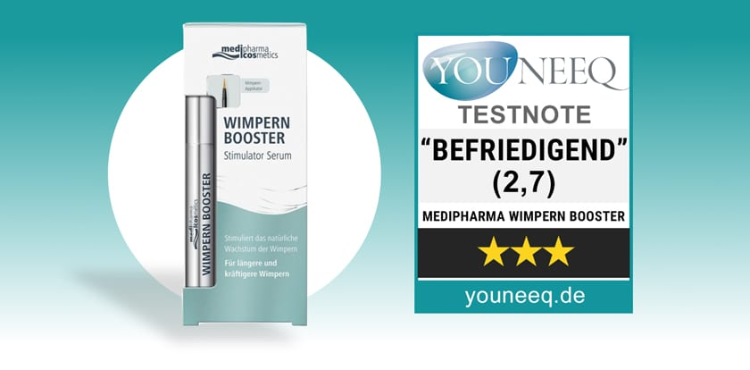 Wimpern Booster Test Medipharma