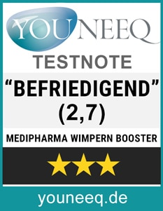 Wimpern Booster Medipharma Test