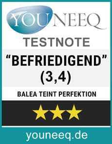Balea Wimpernserum Test Testsiegel youneeq