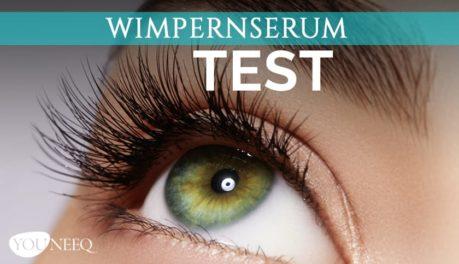 Wimpernserum Test 2020
