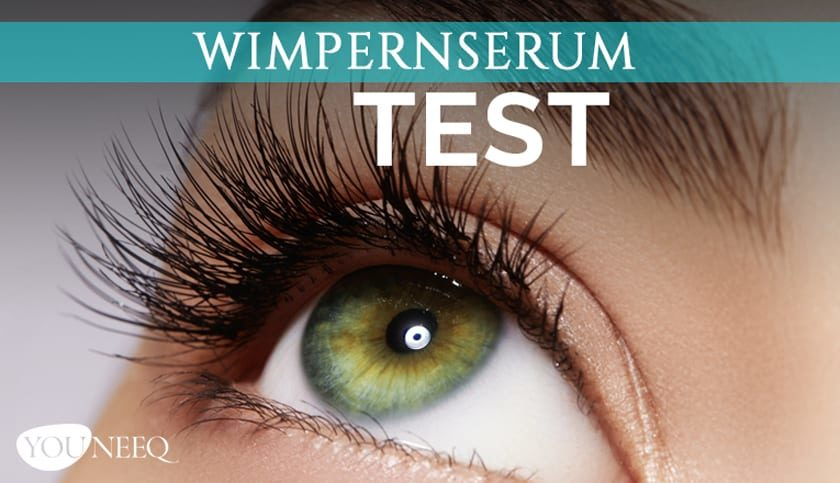 Wimpernserum Test 2020