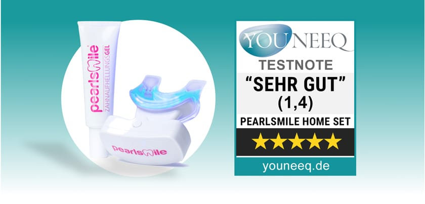 Zahnbleaching Pearlsmile Home Set Test